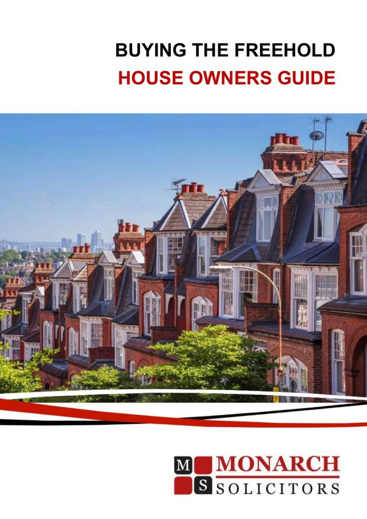 Freehold Purchase Guide - Buying The Freehold