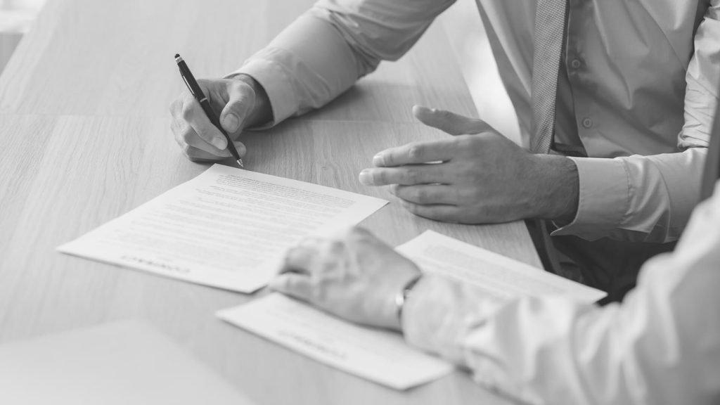 Signing Development Agreement