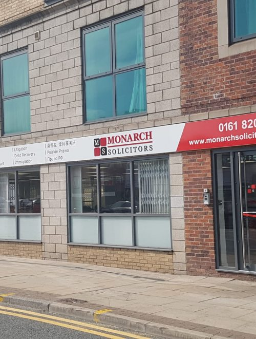 Monarch Solicitors Manchester Office - Manchester Lawyers